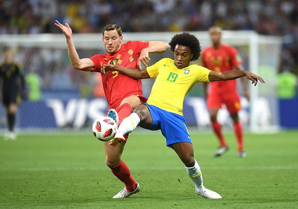 Belgie zdolala ve čtvrtfinále Brazílii.