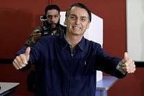 Brazilský prezidentský kandidát Jair Bolsonaro