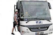 autobus - Tišnov