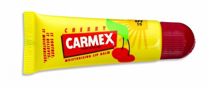 Balzám na rty s třešňovou příchutí Carmex Original, SPF 15, 99 Kč
