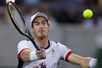 Andy Murray v olympijském finále.