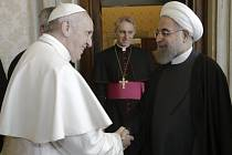 Papež František a Hassan Rúhání