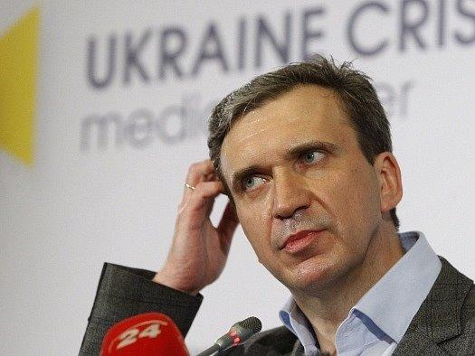 Ukrajinský ministr hospodářství Pavlo Šeremeta.