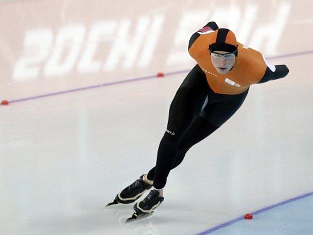 Rychlobruslař Sven Kramer obhájil v Soči olympijské zlato na 5000 metrů.