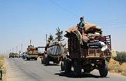 Sýrie. Do města Dará přijíždějí syrské jednotky s podporou Ruska