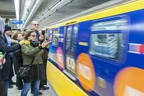 Otevření nové stanice metra