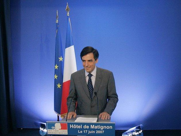 Volby ve Francii vyhrála pravice. Na snímku premiér Francois Fillon.