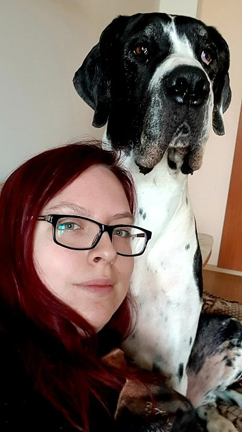 Jana Belzová a její doga