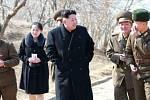 Kim Jo-čong. Mladší sestra vůdce KLDR Kim Čong-una.