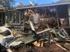 Na dům v Arizoně spadlo jednomotorové letadlo.