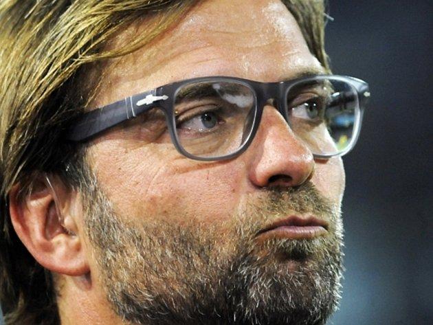 Jürgen Klopp, trenér fotbalistů Dortmundu.