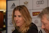 Ester Ledecká už vyhlíží start nové sezony.
