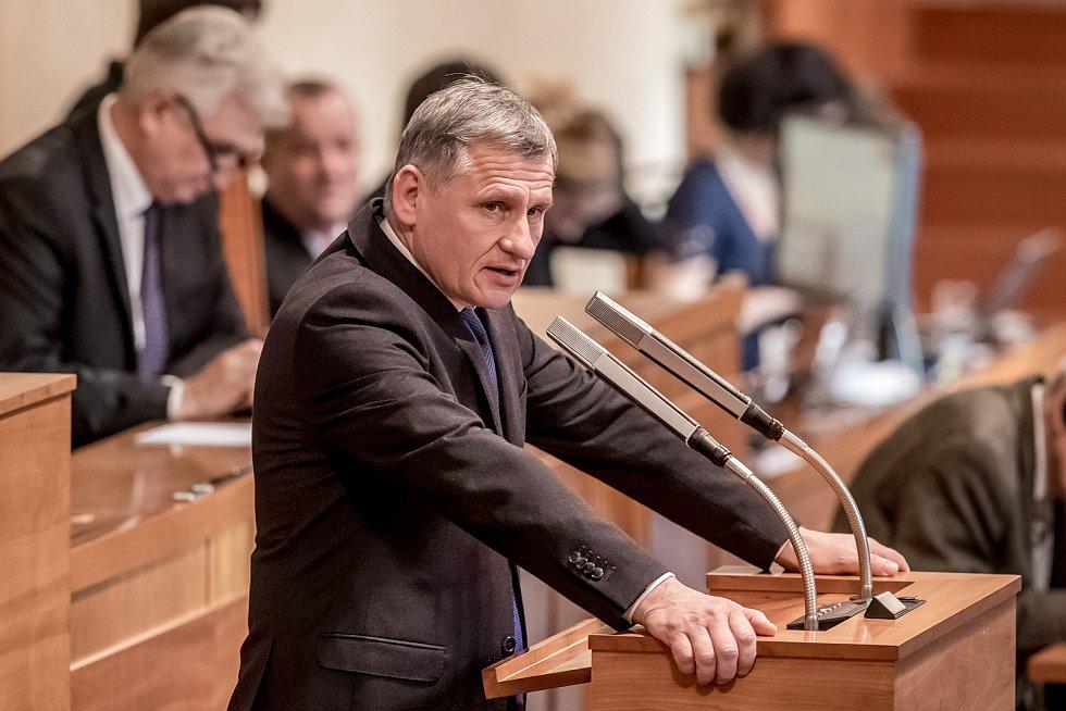 Předsedou Senátu byl 14. listopadu zvolen Jaroslav Kubera. Na snímku Jiří Čunek.
