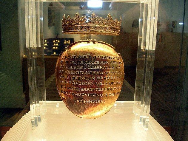 Relikviář Anny Bretaňské byl uložen v Musée Dobrée