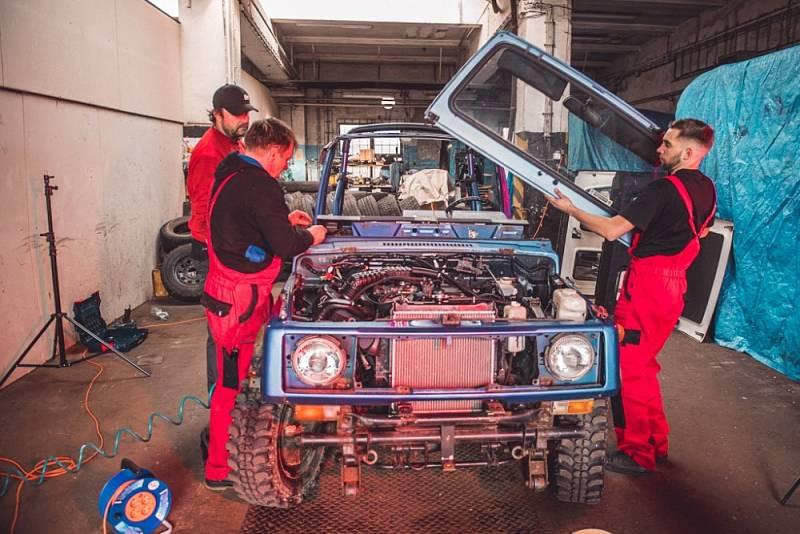 Přestavba vozu Suzuki Samurai