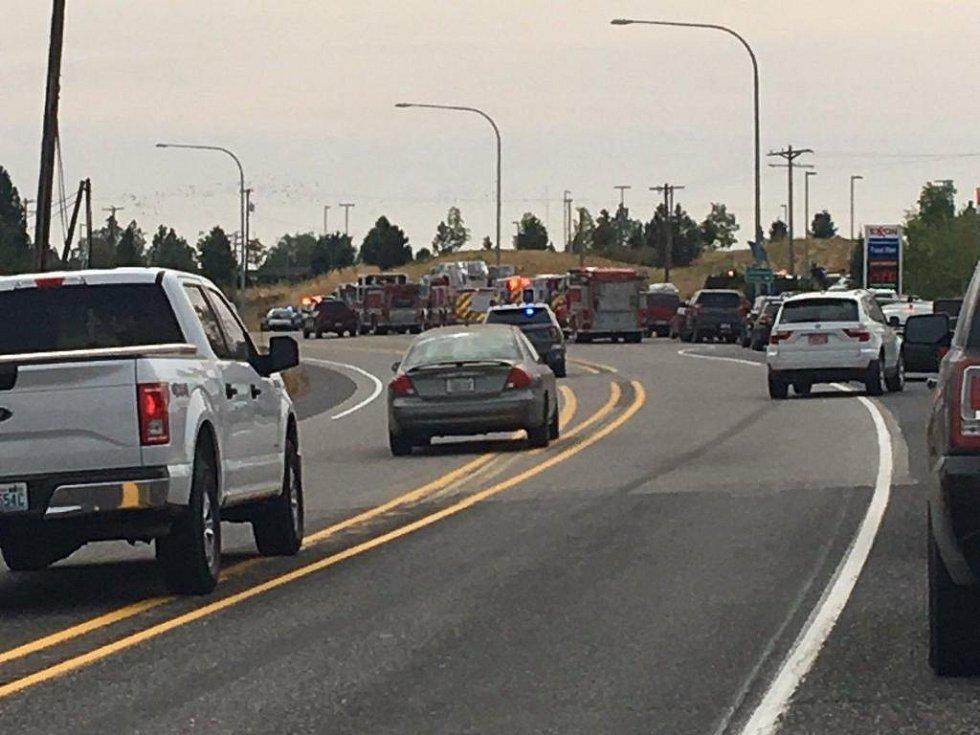 Střelba na střední škole v americkém Spokane. Zásah policie.