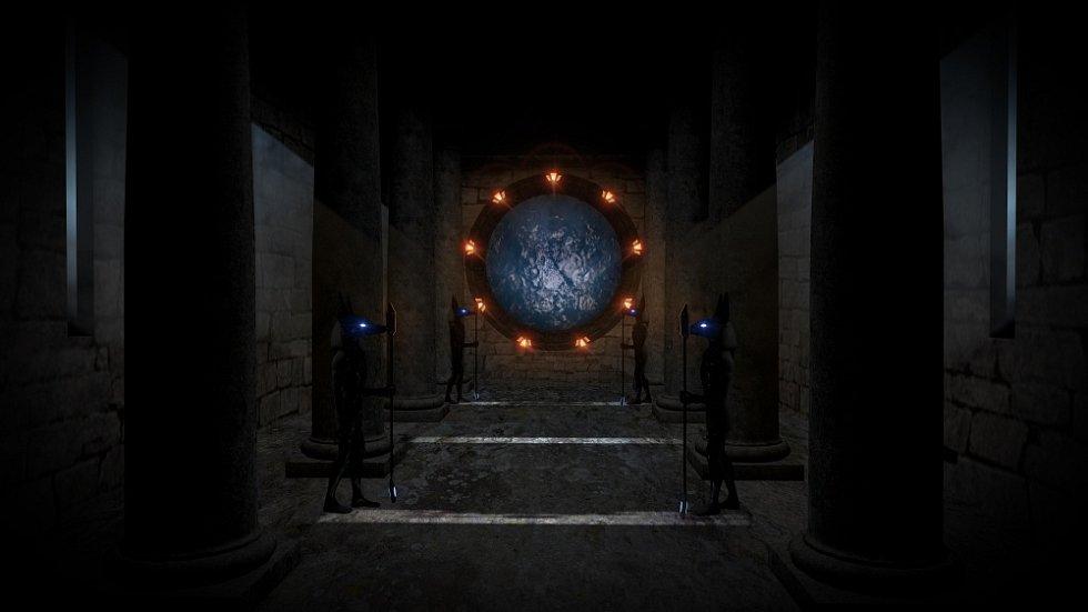 Mezi nejoblíbenější sci-fi seriály patří například Hvězdná brána.