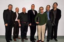 Woody Allen se svou kapelou New Orleans Jazz Band