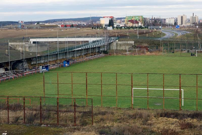 Smutný konec hřiště v Plzni. Areál SK Slovan Plzeň 1910 musel ustoupit aglomeraci