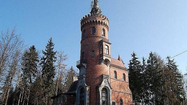 Goethova vyhlídka na Výšině u Karlových Varů