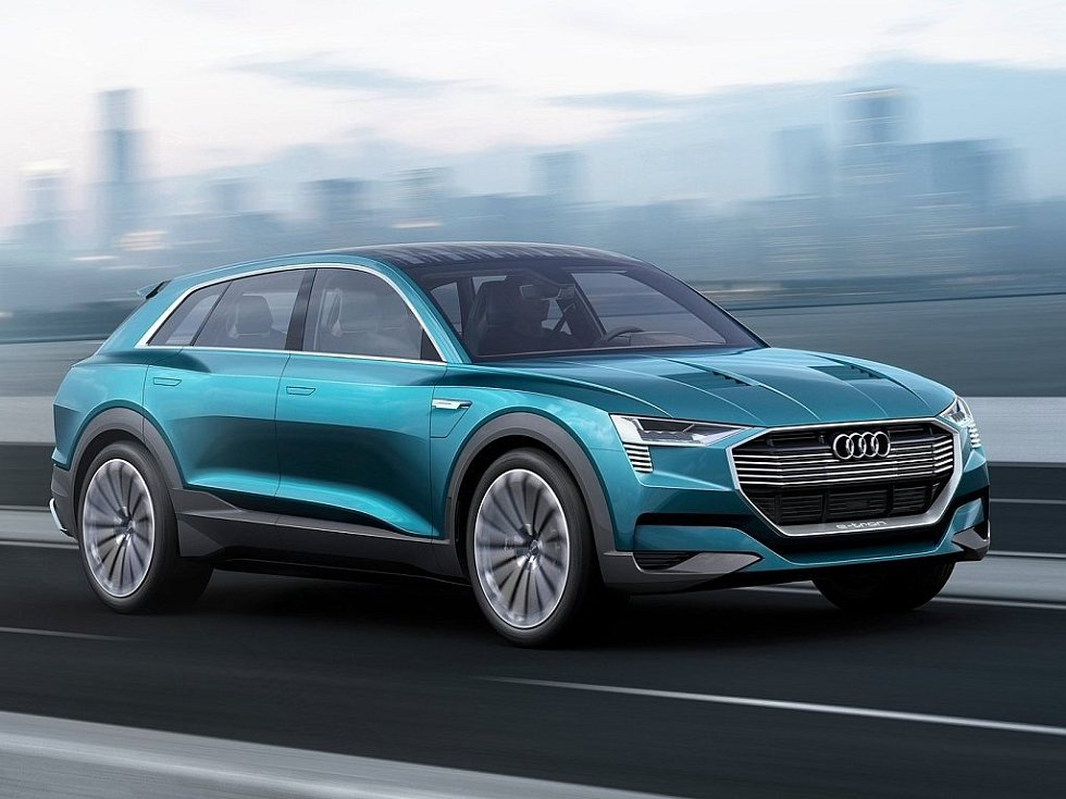 Koncept Audi e-tron quattro.