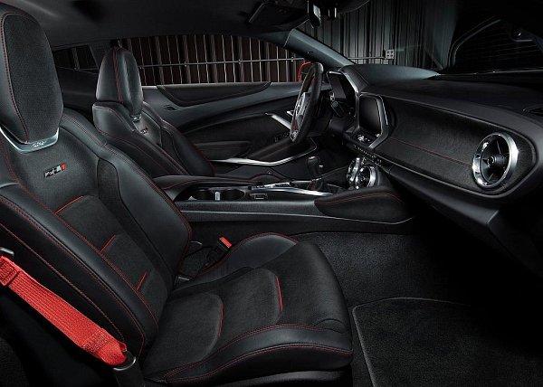 Chevrolet Camaro ZL1.