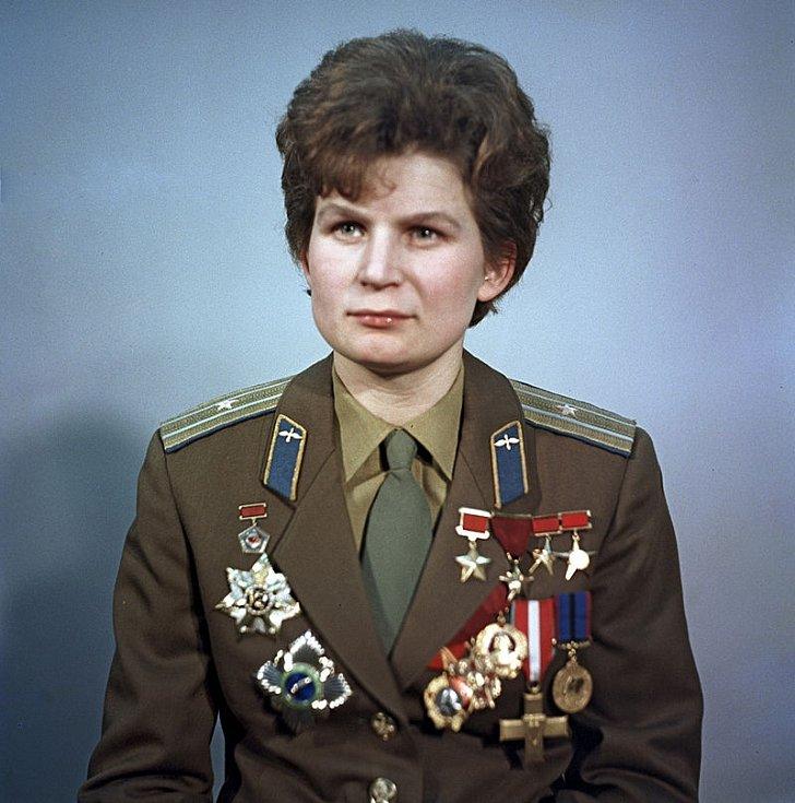 První ženou, která byla ve vesmíru, se stala Ruska Valentina Tereškovová. Snímek pochází z roku 1969.