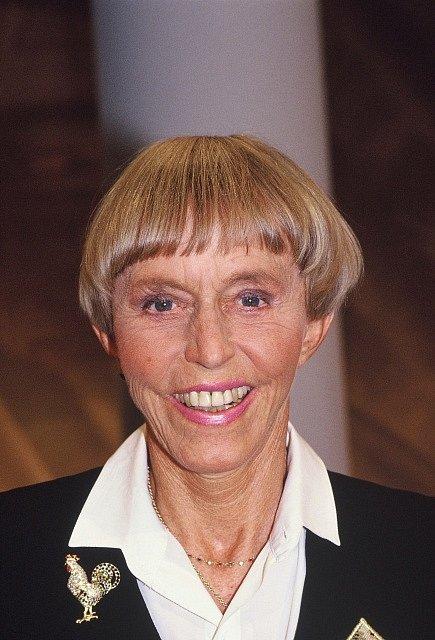 Zakladatelka prvního sex shopu na světě, Němka Beate Uhse.