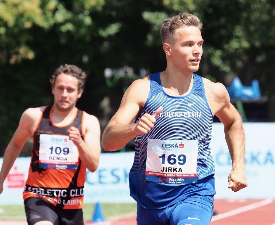 Atletické mistrovství ČR v Kladně