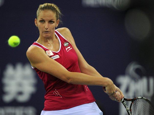 Karolína Plíšková na turnaji v Ču-chaj vyhrála svou skupinu.