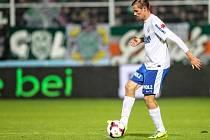 Rakouský fotbalista Dominique Taboga.