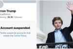 Zablokovaný účet totiž ve skutečnosti vůbec nepatřil Trumpovu synovi
