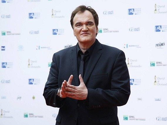 Americký režisér Quentin Tarantino.