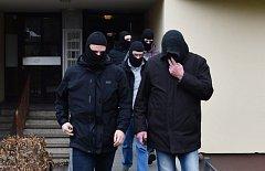 Berlín, zátah na islamisty