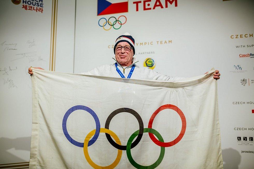ze společneské akce českého olympijského domu v Pchjongčchangu