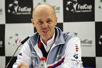 Kapitán českého fedcupového týmu tenistek Petr Pála.