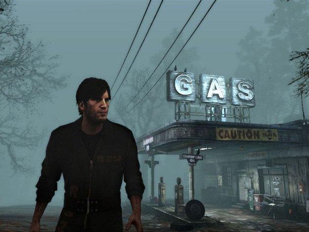 Počítačová hra: Silent Hill: Downpour.
