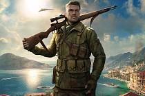 Počítačová hra Sniper Elite 4.