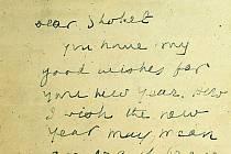 Izraelská národní knihovna objevila 80 let starý dopis, který na začátku druhé světové války poslal Mahátma Gándhí židovskému představiteli