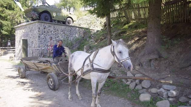 Cesta do práce v Koločavě