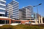 Budova Metronom Business Center na Nových Butovicích