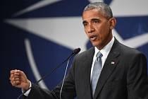 Barack Obama na summitu NATO.