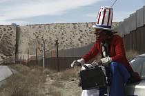 zeď na americko-mexické hranici