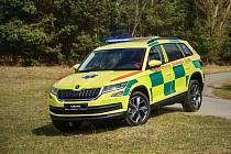 Škoda Kodiaq bude ve speciální úpravě sloužit i záchranářům.