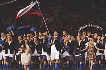 Petr Koukal, trojnásobný olympionik, měl tu čest vroce 2012 nést českou vlajku na LOH vLondýně.