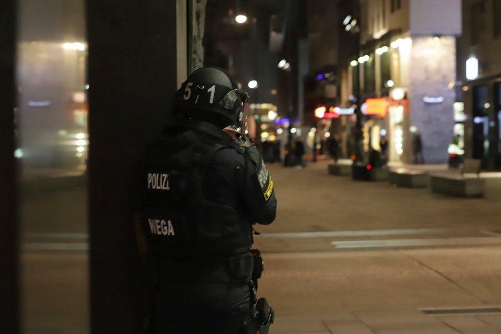 Střelba v centru Vídně