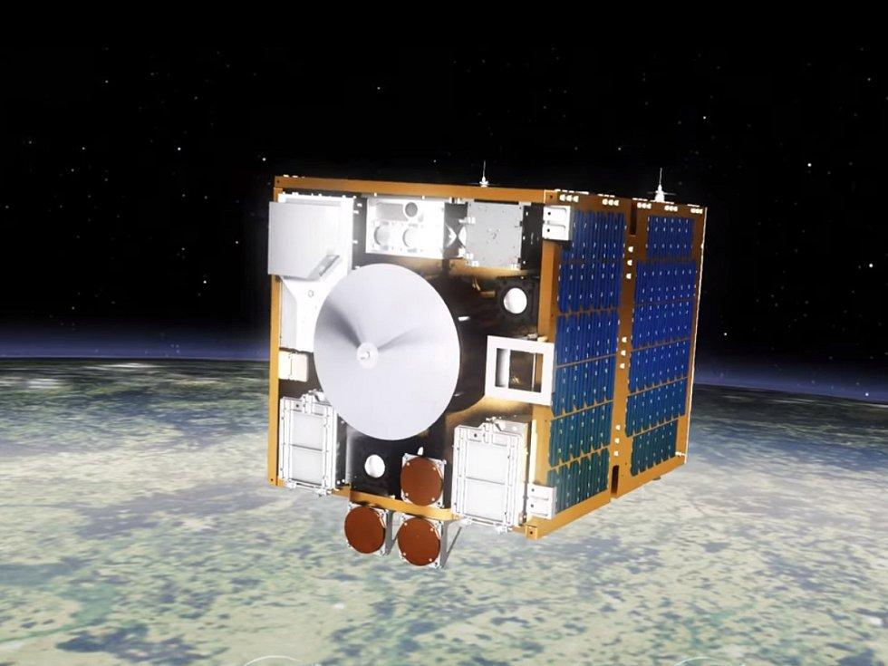Satelit RemoveDEBRIS.