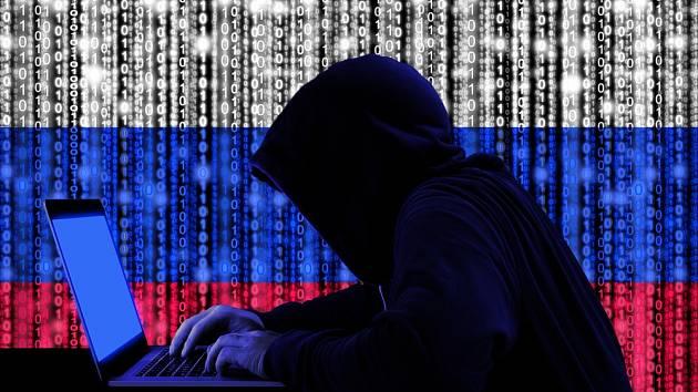 Ruský hacker - Ilustrační foto