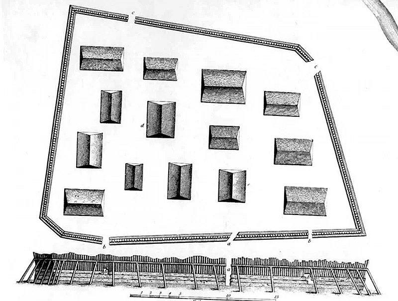 Svou stromovou pevnost postavili Tlingitové na Aljašce počátkem 19. století: byla to poslední fyzická bariéra pro postupující ruské síly