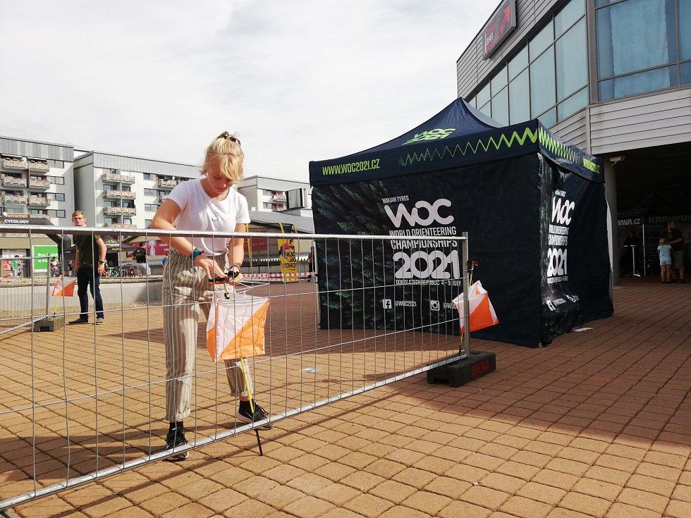 Přípravy na šampionát probíhají na všech úrovních - na fotce akce k propagaci MS v rámci Sportlive